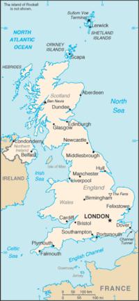 Peta Britania Raya