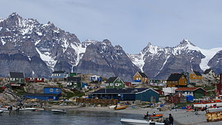 Ukkusissat Place in Greenland, Kingdom of Denmark
