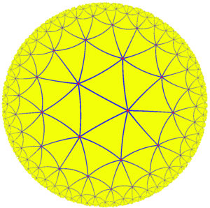 Hurwitz's automorphisms theorem - Image: Uniform tiling 73 t 2