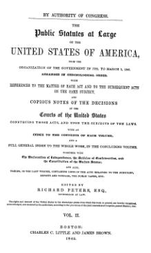 United States Statutes at Large Volume 2.djvu