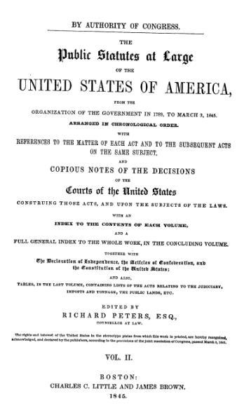 File:United States Statutes at Large Volume 2.djvu