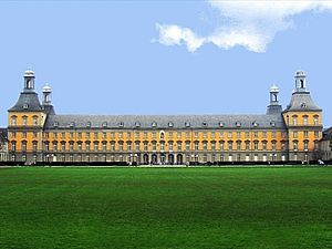 Electoral Palace, Bonn - View of the building