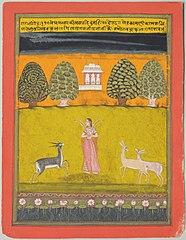 Girl with Three Deer: Todi Ragini
