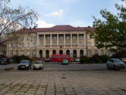 Urz�d Miasta Kielce od strony placu Konstytucji 3 Maja