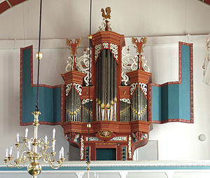 Jürgen Ahrend - Image: Uttum Orgel