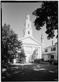 VIEW FROM THE SOUTHEAST - Church of the Redeemer, 236 Commercial Street, Provincetown, Barnstable County, MA HABS MASS,1-PTOWN,1-1.tif