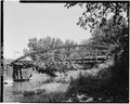VIEW WEST FROM SOUTH BANK - Keithsburg Bridge, Sixteenth Street Spanning Pope Creek, Keithsburg, Mercer County, IL HAER ILL,66-KEIBU,1-1.tif