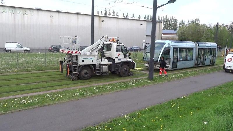 File:Valenciennes & Anzin - Déraillement de la rame de tramway n° 17 à la sortie du dépôt de Saint-Waast le 11 avril 2014 (091A).ogv