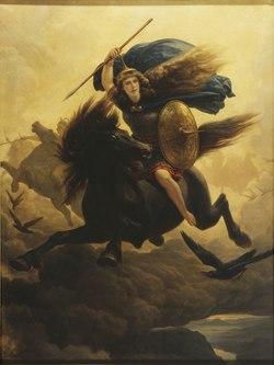 Valkyrie (Peter Nicolai Arbo) - Nationalmuseum - 18255.tif