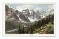 Valley of the Peaks, Lake Louise, B. C (NYPL b12647398-66451).tiff