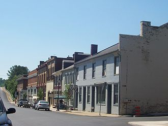 Scottsville, Virginia - Valley Street, Scottsville,Virginia