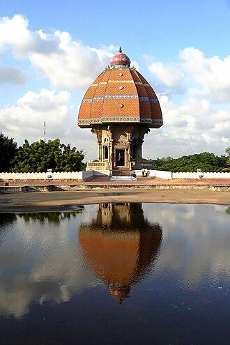 Valluvar Kottam - Image: Valluvar Kottam terrace