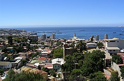 Skyline of Valparaíso Region