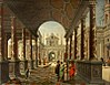Van Delen and Janssens - Perspective Fantasy of a Palace, with Elegant Figures.jpg