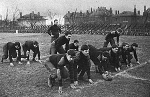 1904 Vanderbilt Commodores football team - The team in action.