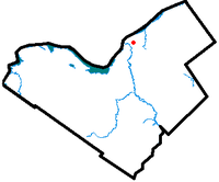 Location of Vanier within the City of Ottawa