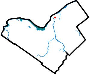 Vanier, Ontario - Image: Vanier locator map