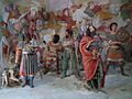 Varallo, Sacra monte, Cappella 05-Arrival of the Magi 03.JPG