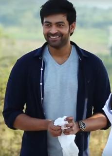 Varun Tej Indian actor