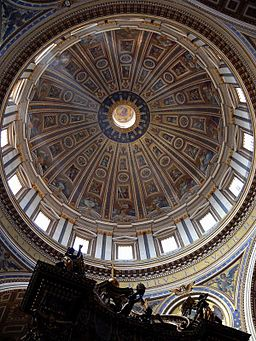 Vatikan Szent Peter kupola