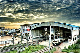 Velachery Railway station June 2010.jpg