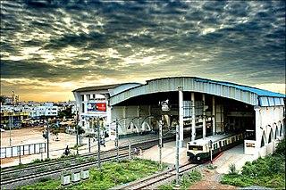 Velachery Neighbourhood in Chennai, Tamil Nadu, India