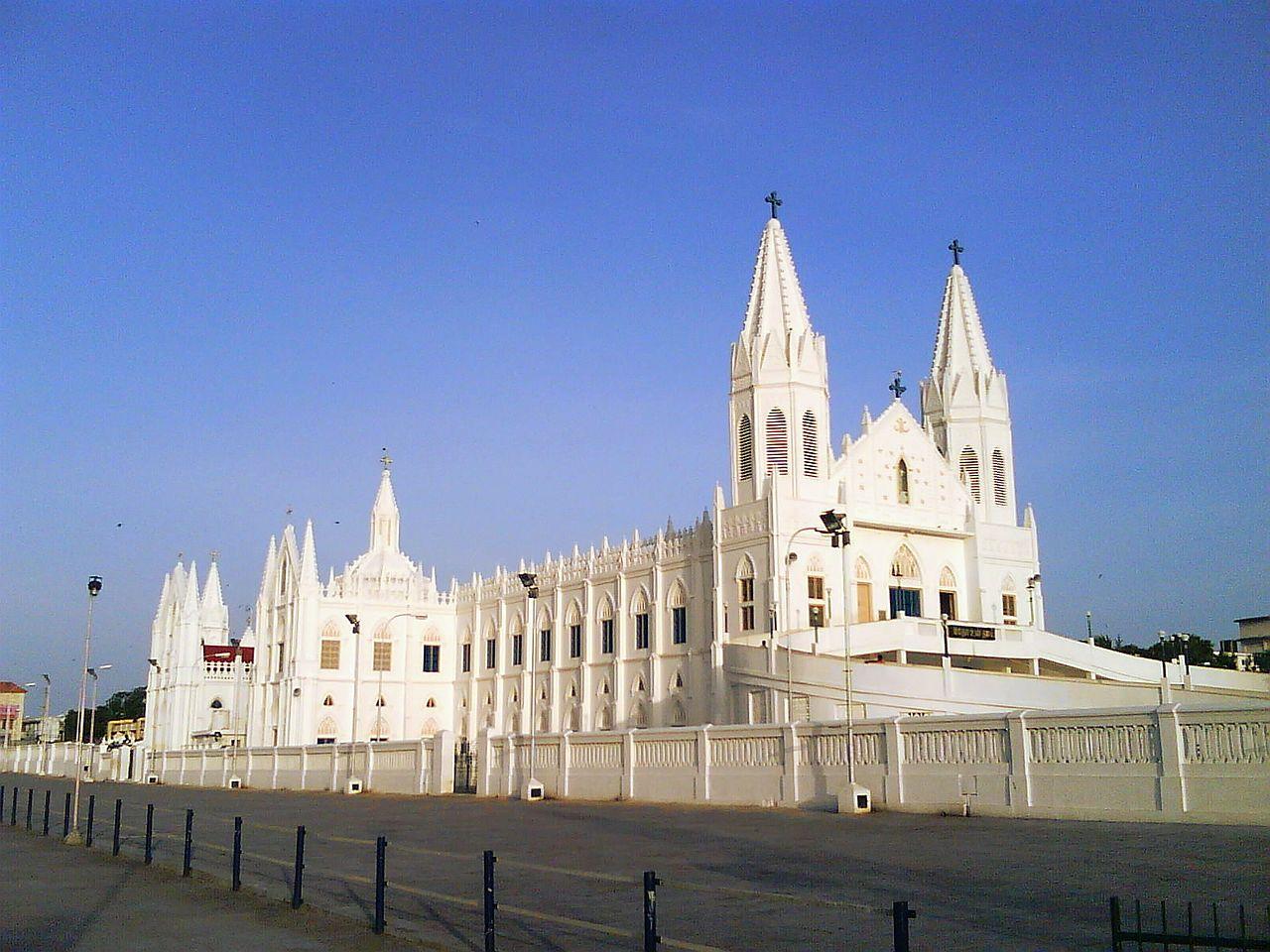 File:Velankanni church,nagapattinam,tamilnadu - panoramio ...