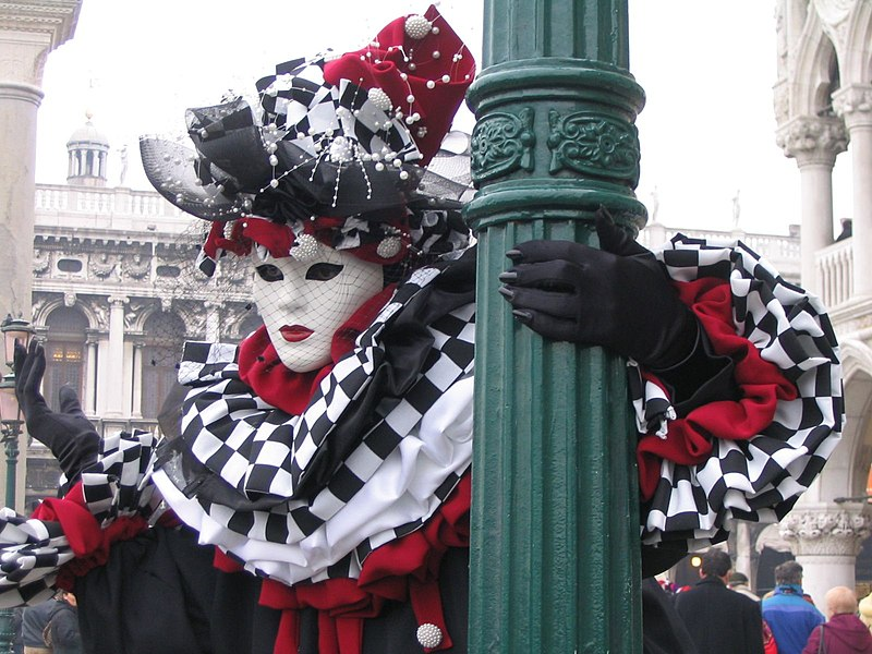 The Carnival of Venice, Carnevale di Venezia, annual festival held in Venice, Italy