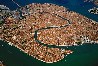 Venice Old Town Lagoon Aerial View.jpg
