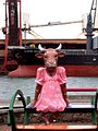 Ventspils cow.JPG
