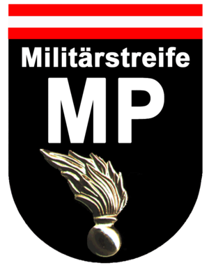 Military Police (Austria) - Emblem of the Austrian MP