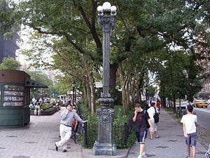Verdi Square - Image: Verdi square nyc
