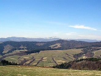 Verecke Pass - View from Verecke Pass