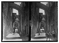 Via Dolorosa, V Station (of the Cross) LOC matpc.14619.jpg