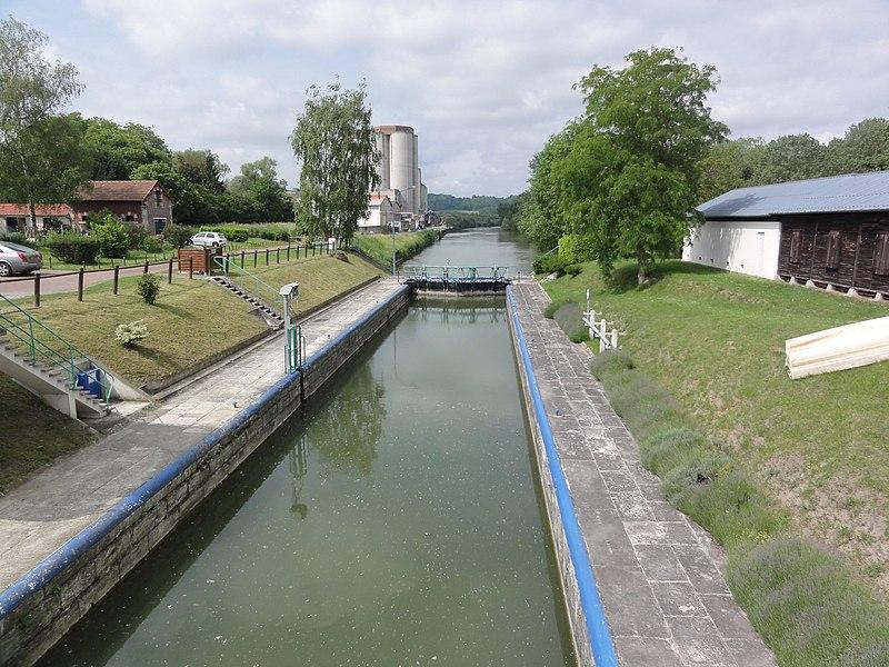 Vic-sur-Aisne, Aisne canalisée, écluse nr 12