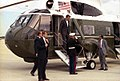 Vice President Bush campaigns for President in Seattle, Washington 11 Oct 88.jpg