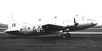 No. 110 Squadron RAF - A Vickers 664 Valetta, T.3 'N-B' of RAF College Cranwell at Blackbushe Airport
