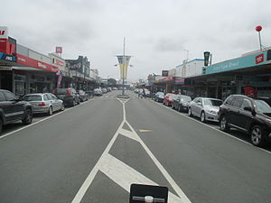 Dargaville - Victoria Street in Dargaville (2015)