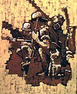 VietnamCombatArtSilentSweatbyStephenHRandallCATVII1968