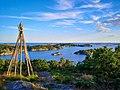 View from Årosveden over parts of the Søgne archipelago.jpg