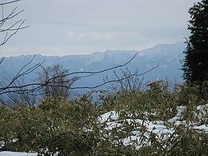 Mount Naka Katsuragi - Image: View from Mount Nakakaturagi 1