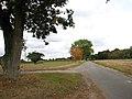 View north along Brickle Road - geograph.org.uk - 1533091.jpg
