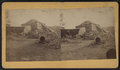 View of a collapsed barn with a haystack, from Robert N. Dennis collection of stereoscopic views 3.png