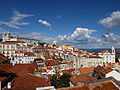View of the Alfama quarter in Lisbon Portugal.JPG