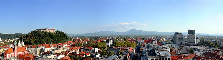 View on Ljubljana from Neboti%C4%8Dnik Tower %2838458386985%29