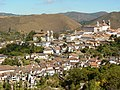 View over the Town from the Road into Town - Ouro Preto - Minas Gerais - Brazil.jpg