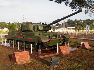 Vijayanta - Vijayanta on static display in Port Blair
