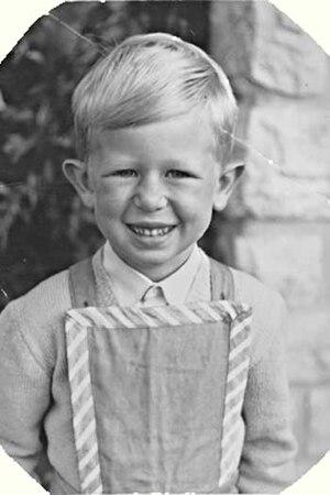Viktor Giacobbo - Giacobbo as a child