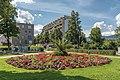Villach Perau Ing.-Julius Raab-Platz Park Blumen-Rondeau 15072020 9346.jpg