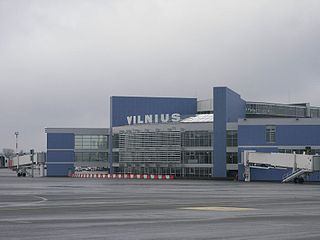 international airport of Vilnius, Lithuania